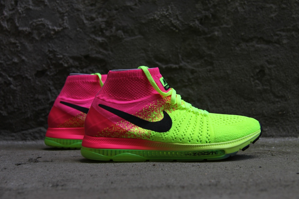 All in på Nike Air Zoom All Out Flyknit | LØBEREN