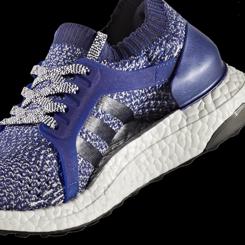 65efe07cf43 Ultra BOOST X er designet som en neutralt opbygget og meget fleksibel sko.  I svangen bruger Ultra Boost X, teknologien Floating Arch, der gør at skoen  ...