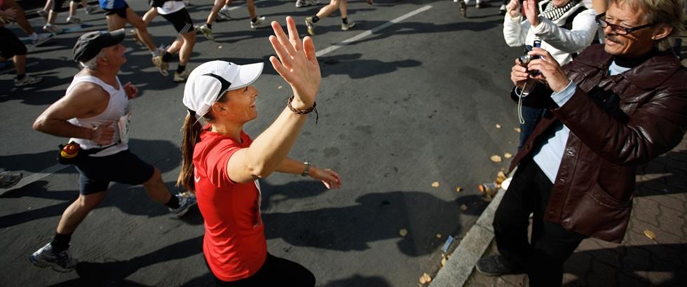 Løbere til halvmaraton i København