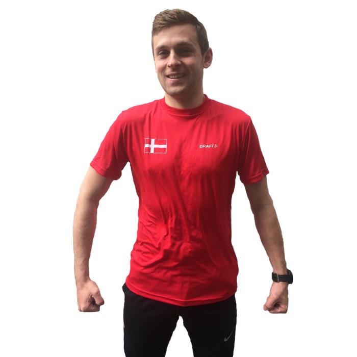 Craft Danmark T Shirt Herre | LØBEREN