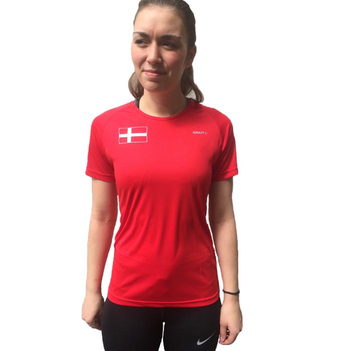 Craft Danmark T Shirt Dame | LØBEREN