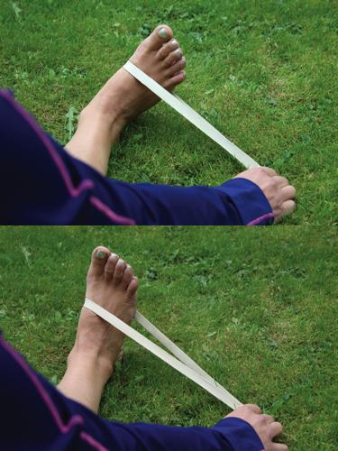 Indadføring af fod