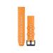 "Garmin fenix 5 Plus QF 22"" Spark Orange Silicone Rem"