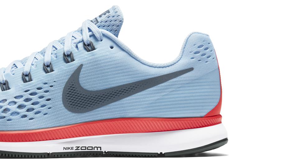 Oplev gode tilbud Nike Air Zoom Pegasus 34 Shield Dame