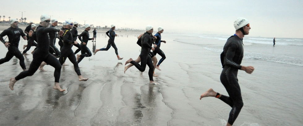 Triatlon svømning