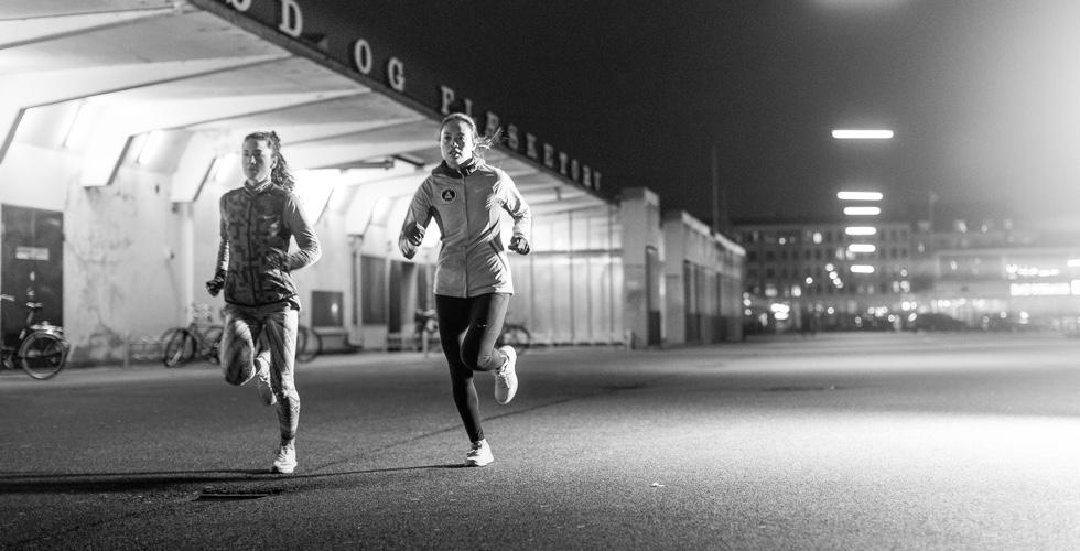 løbesko til tung løber
